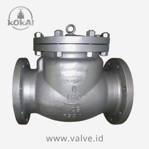 Swing Check Valve WCB #150, Kokai Valve Manufacturer & Distributor