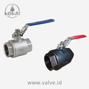 Ball Valve 1000 WOG, Stainless Steel - WCB, Full Port 2-PC