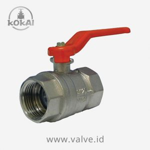 Ball Valve 400 WOG-Chromed Brass