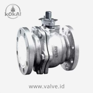 Ball Valve 10K, Cast Iron, 2-PC Body, Full Bore, Flanged end JIS 10K