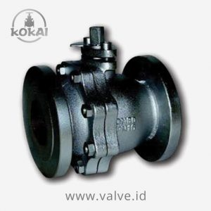 Ball Valve PN16, Cast Iron-SS304, Flanged, PN16, Seat PTFE