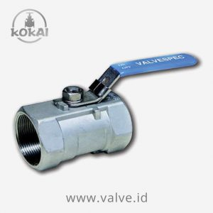 Stainless Steel Ball Valve, 1 Piece R-Bore, PN 63