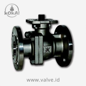 Stainless Steel Ball Valve 2 Piece Flanged, Cl 150