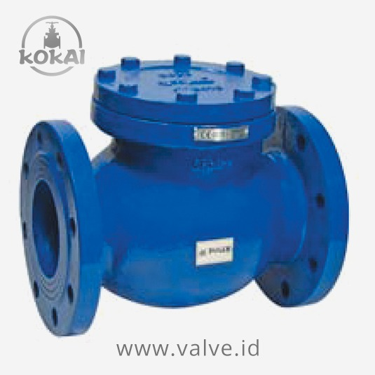 Swing Check Valve, DN40- DN300, PN6 AND PN16