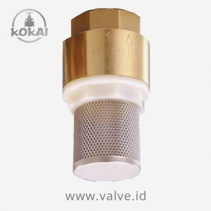 Foot Valve Brass SE