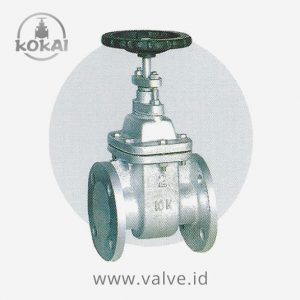 Gate Valve Cast Iron JIS 10K NRS
