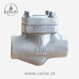 Kokai Valve Manufacturer Lift Check Forged #800 SW NPT