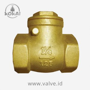 Swing Check Valve #125 Brass SE