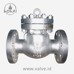 Swing Check Valve Cast Steel ANSI 300 FE